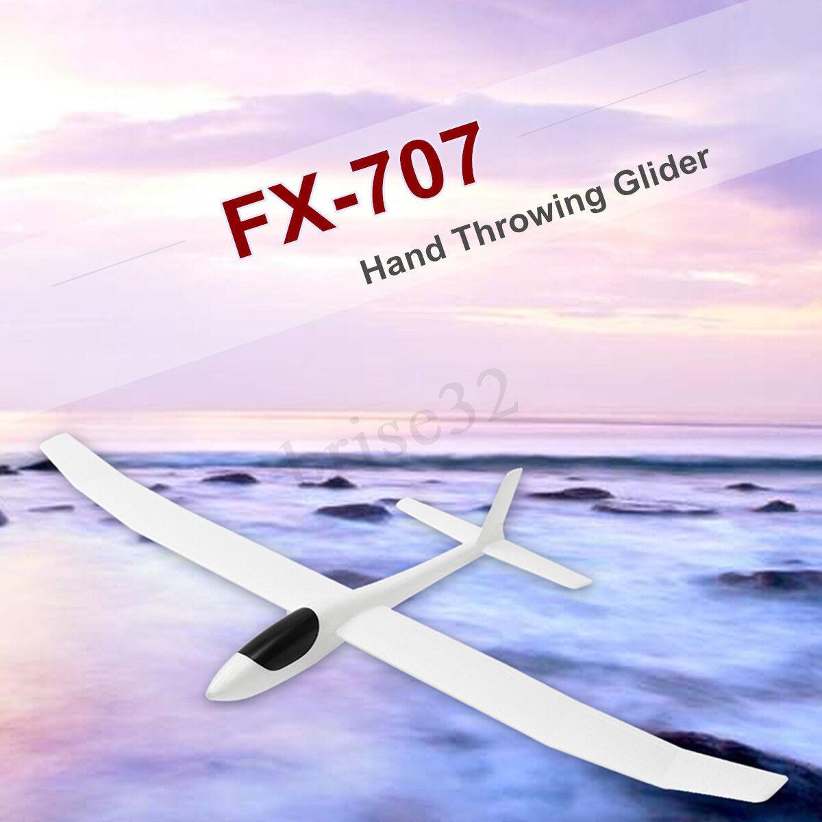 Fx-707 1200mm spannweite hand werfen gleiter diy - flugzeug - modell.