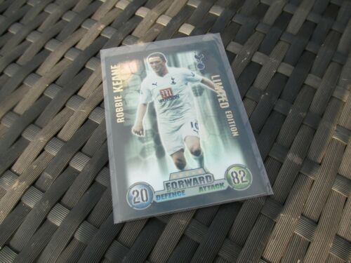 Match Attax Attack 2007//08 07//08 Robbie Keane Limited Edition MINT