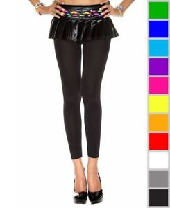 b3a4f986e Image is loading New-Music-Legs-35747-Opaque-Footless-Tights