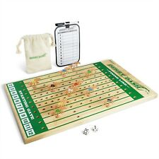 Gosports Classic Wooden Horse Race Game Tabletop Racing With 2 Dice And Board For Sale Online Ebay