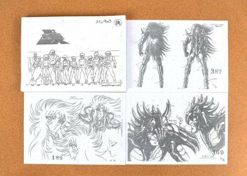 Saint Seiya Knights of the Zodiac Settei Sheets 【289pages】