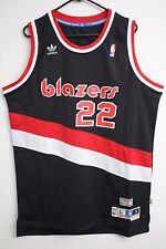 NBA Adidas Portland Trail Blazers Clyde Drexler Hardwood Classics Men Jersey