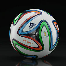 ADIDAS BRAZUCA OFFICIAL FIFA WORLD CUP 2014 BRAZIL SOCCER MATCH BALL SIZE 5