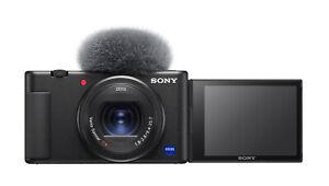 Sony Cyber-shot ZV-1 20,1MP Kompakt Vlog-Kamera - Schwarz