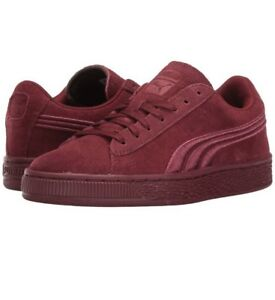 New Puma Suede Classic Badge Sneaker Cabernet Red 362951 06 Kids YOUTH Sizes