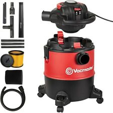 Vacmaster 6 Gallon Wet Dry Shop Car Vacuum Cleaner With Detachable Blower 5 Hp