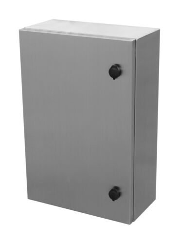 316 Stainless Steel AE Stainless Direct Electrical Enclosure 600Hx500Wx250D