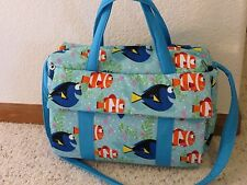Finding Nemo /Dory custom handmade Diaper Bag w/ch pad by EMIJANE free embroider