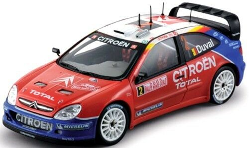 SUN STAR 1 18 CITROEN XSARA WRC RALLY SPAIN SAINZ 2004 ART 04412