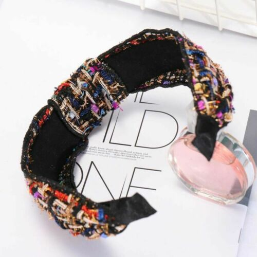 Women/'s Vintage Knot Headband Hairband Cross Fabric Hair Bands Hoop Accessories