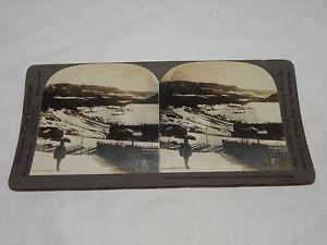 813614 Altes Stereobild FÜr Stereobetrachter Stereoskop Clear-Cut-Textur
