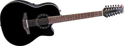 Acoustic Electric Guitars Cooperative Ovation Standard Balladeer 2751ax-5 12-saiten Akustische-elektrische Gitarre