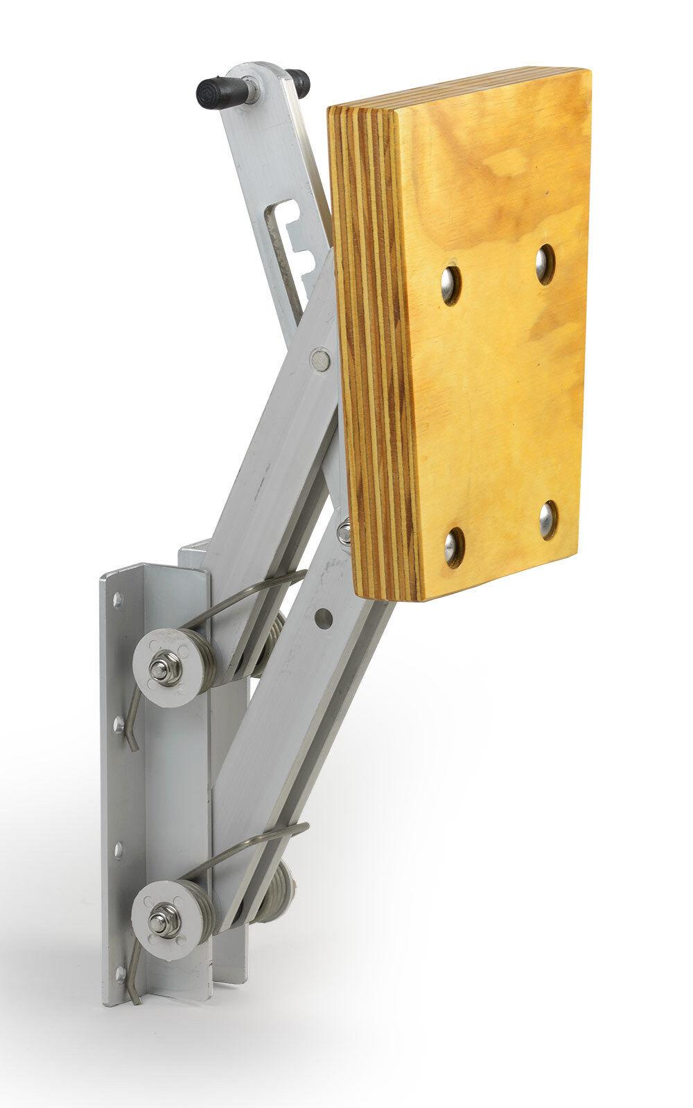 Außenborder-Halterung Motor-Halter Stiefel 7 PS 4 Positionen verstellbar Alu Holz