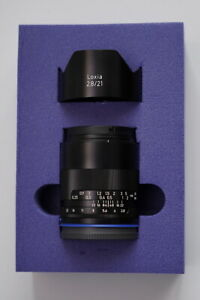 EXCELLENT ZEISS Loxia 21mm f/2.8 Lens for Sony E FE A7III A7RIV A9 A7RIII A7RII