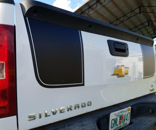 Z71 2007-2013 Chevy Silverado Hood /& Tailgate Stripe Decals Rally Kit 3M