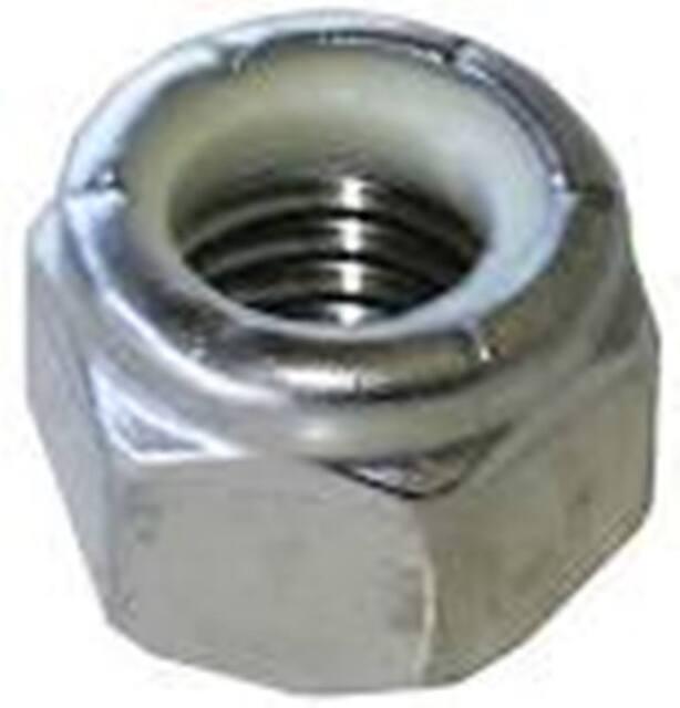 "3//8-16/"" 18-8 Stainless Steel Nylon Insert Hex Lock Nuts Nylock THIN NUTS 25 PCS"