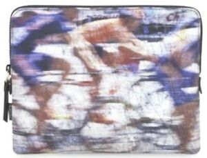 452f319779 Paul Smith iPad Case Cover Sleeve Blue Blurry Cyclist RRP £110
