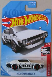 Hot-Wheels-2019-HW-Rescue-series-NISSAN-SKYLINE-2000-GT-R-4-10-160-250-white