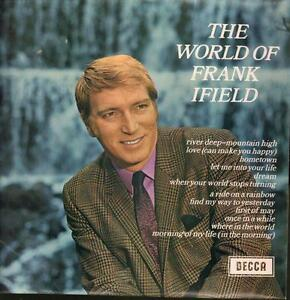 Frank Ifield Vinyl Lp The World Of Frank Ifield Decca Spa