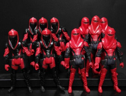 10PCS Star Wars Kir Kanos CARNOR JAX Crimson Empire Royal Guard 30th Anniversary