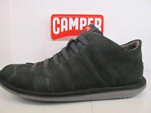 En Ver Zapato Nobuck Verde Oscuro 057 Piel De Camper Título Escarabajo El Elástico Original Resbalón 36678 Encaje Detalles H9IED2W