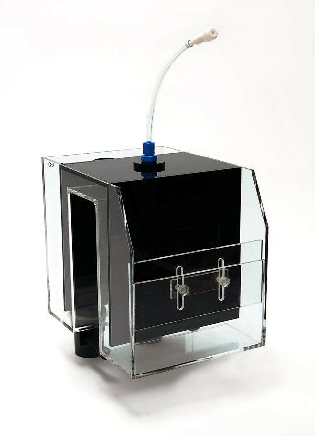 Perfekt-Reef Aquarienüberlauf mit 2 Abläufen d 32mm für Aquarien ohne ohne ohne Ablauf 6ef0c9