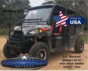 For Polaris Ranger Crew 2 5 Lift Kit 2014 2021 570 Ranger Midsize Front Rear Mma Ebay