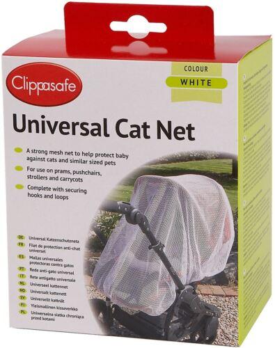 Clippasafe UNIVERSAL PRAM//CARRYCOT CAT NET Child//Baby//Kids Travel Safety BNIB