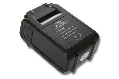 WERKZEUG AKKU BATTERIE 18V 3000mAh für DEWALT Baustellen Radio DCR020