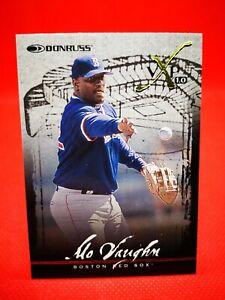Donruss 1997 carte card Baseball MLB NM+/M Boston Red Sox #26 Mo Vaughn