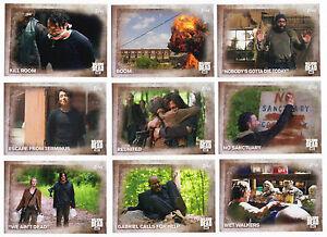 2016-Topps-Walking-Dead-Season-5-100-Trading-Card-Base-Set-Empty-Box-Wrap