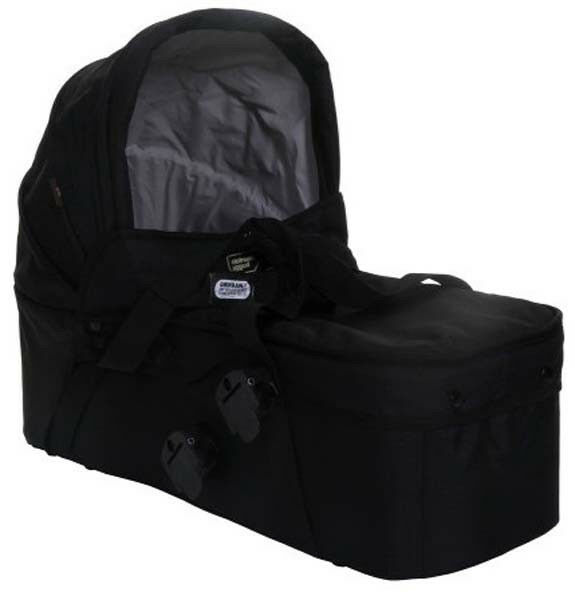 Mountain Buggy 2013 Carrycot In Black For Duet Stroller Brand