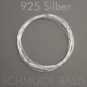 2 m Silberdraht (echt); 925 Silber; Strickdraht 0,25 mm | eBay