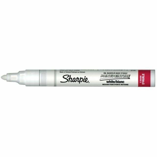 Medium Point, Sharpie Medium Point Oil-Based Paint Markers 2-Color Set