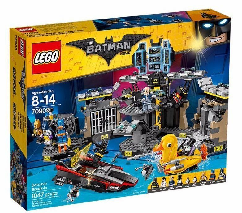 LEGO 70909 The Batman movie  Batcave Break-in NEW NEW NEW & Unopened db7612