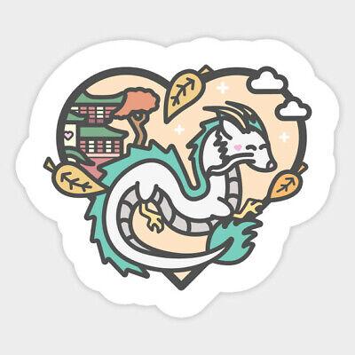 Japanese Anime Other Anime Collectibles Spirited Away Dragon Anime Ghibli Vinyl Decal Sticker Haku Zsco Iq