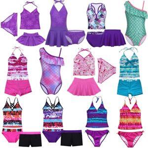 67ee69f4eecc2 Image is loading Kid-Toddler-Girl-Princess-Swimming-Bikini-Costume-Swimwear-