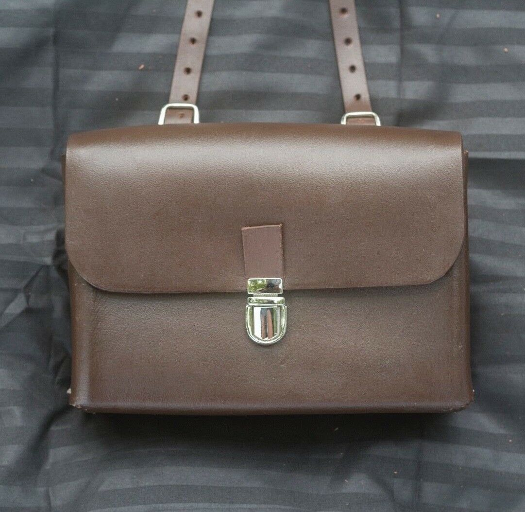 Leather  Saddle Bag For Bike BROWN Limited Edition by London Craftwork L18  cheap and top quality