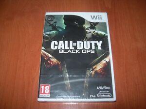 CALL-OF-DUTY-BLACK-OPS-Wii-PAL-ESPANA-PRECINTADO