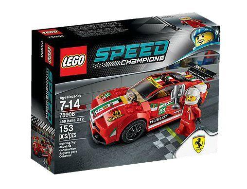 LEGO ® Speed Champions 75908 458 Italia gt2 NEUF neuf dans sa boîte NEW En parfait état, dans sa boîte scellée Boîte d'origine jamais ouverte