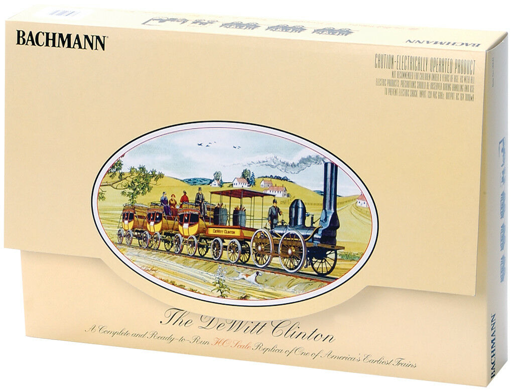 Bachmann  641 Ho  la DeWitt Clinton  histórico Train Set Nuevo en Caja Original