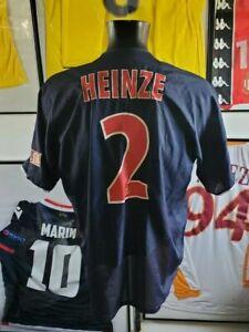 Maillot jersey shirt trikot maglia PSG paris vintage 2002 2003 02/03 heinze L