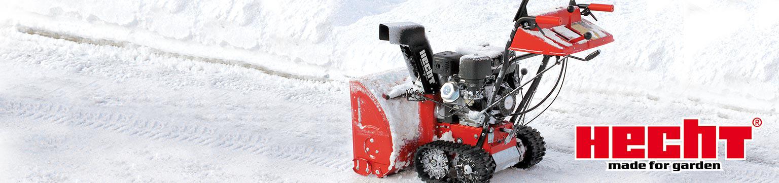 Hecht Schneefräsen