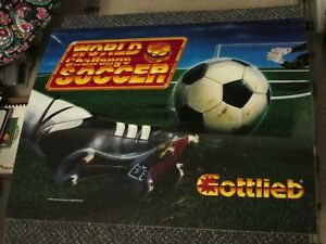 Premier World Challenge Soccer pinball super kit 1994 Gottlieb