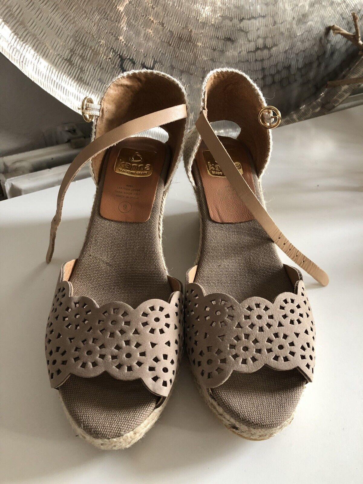 "Damenschuhe Größe 39 Neu ""kanna"" Wedge Sandale Sommerschuh Schuhe Keilabsatz"