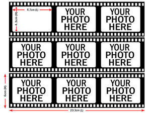 Film-Strip-Photos-Edible-Icing-Image-Cake-Topper-Personalised-Party-Decoration