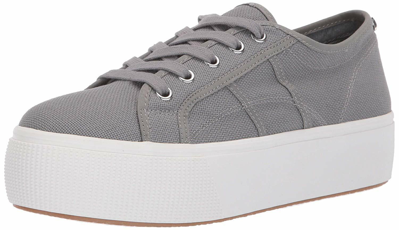 Steve Madden EMMI 005 Low 2 Platform scarpe da ginnastica donna scarpe grigio Dimensione 8.5 new