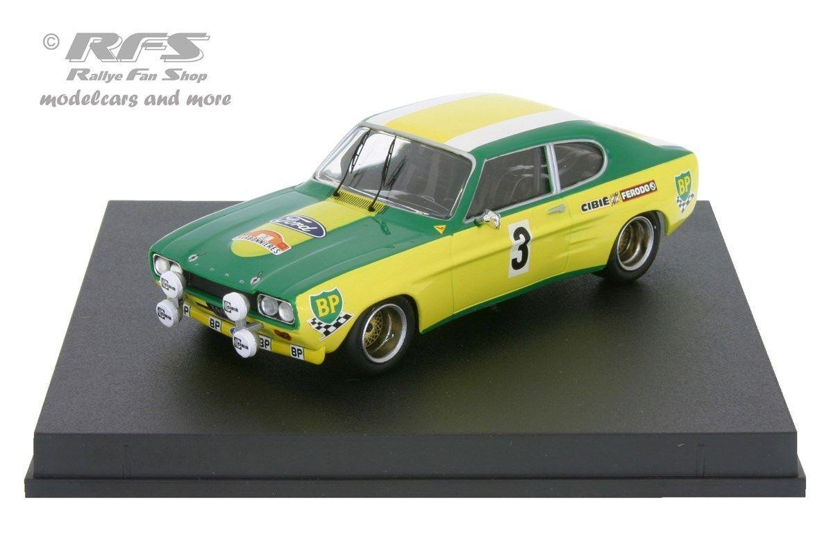 Ford Capri 2600 rs-rallye Lyon Charbonnieres 1972 piot Flacon Flacon Flacon - 1 43 trofeu 2318 37ec46