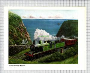 8758-North-Easter-Train-Burnmouth-c-1965-Print