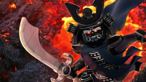 Garmadon be victorious the lego ninjago Silk poster wallpaper 24 X 13 inches